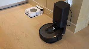 Kendi kendine temizlik yapan robot süpürge ve paspas: iRobot Roomba i7+ &  Braava Jet M6 - YouTube