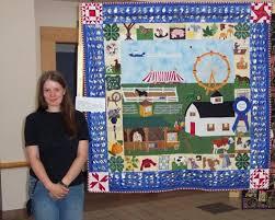 The County Fair Applique Quilt & THE COUNTY FAIR APPLIQUE QUILT Adamdwight.com