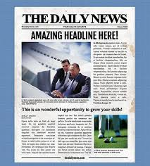 Old Time Newspaper Template Word 4 Page Newspaper Template Microsoft Word 8 5x11 Inch