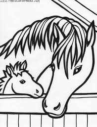 Coloring Pages Of Horses And Foals Auto Electrical Wiring Diagram
