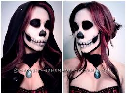 skeleton makeup tutorial deceptively simple skull makeup makes anything a costume