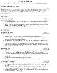 Examples Of Resumes For Internships Resume For Internships Samples
