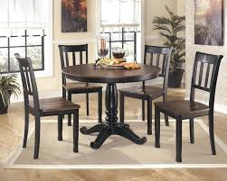 round glass table and 4 chairs round glass top dining table set w 4 wood back