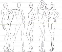 Fashion Model Drawing At Getdrawings Com Free For Personal