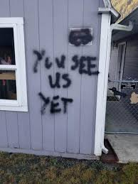 Investigation Underway After 'KKK,' Other Messages Spray-Painted on Morton  Home | Crime & Sirens | chronline.com