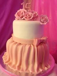 Pink Quinceanera Cake With Cupcakes Cake By Deliciouscreations