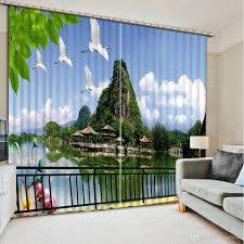 Modern Curtain For Living Room 2017 High Quality Customize Size Curtain Fashion Window Curtains