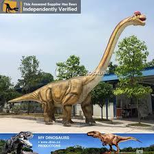 brachiosaurus size jurassic theme park animatronic brachiosaurus statue my dinosaurs