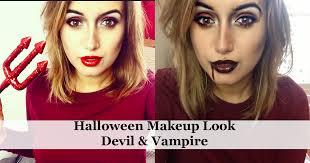 makeup look vire devil