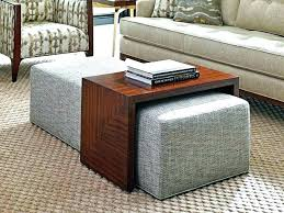round coffee table ottomans underneath coffee table with seating fascinating coffee table with ottoman underneath coffee