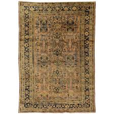 vintage mahal persian rug with modern traditional style for