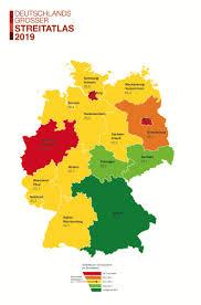 """In """"deutschland arbeitet rammstein die geschichte deutschlands auf und zeigt eine innerliche zerrissenheit, indem sie einerseits eine zuneigung, aber andererseits auch eine… Streitatlas 2019 Ofter Langer Teurer Jeder Zweite Streit In Deutschland Dauert Presseportal"""