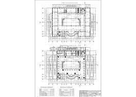Дипломный проект ПГС торговый центр с подземной автостоянкой 3 Типовой план торгового центра План торгового центра на отм 21 000