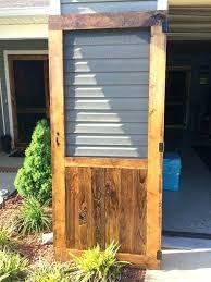 best wood screen door ideas on doors rustic photo gallery custom hand built wooden kit canada slidi