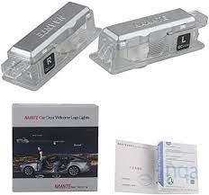 Naante Entry Lighting Car Door Logo Projector Lights For Bmw Amazon De Auto