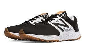 new balance baseball. new balance turf 3000v3, black with white baseball \