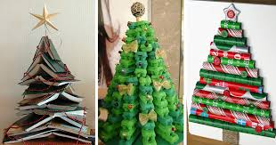 22 <b>Creative DIY</b> Christmas Tree Ideas | Bored Panda