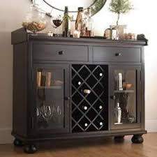 black wine cabinet.  Wine 695002winebarconsolerackstorage In Black Wine Cabinet A