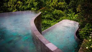 infinity pool bali. Wonderful Pool Hotel U0026 Resorts Hanging Infinity Pools In Bali At Ubud Resort Throughout Pool