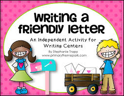 Primary Letter Writing Paper How To Write A Friendly Letter Free Printables Primary