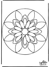Mandala Fiori Az Colorare