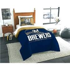 baseball bedding full size bed set the official printed twin comforter by northwest company features a