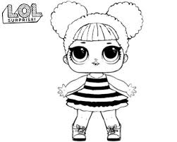 Lol Surprise Dolls Coloring Pages Print Out For Free All The Series