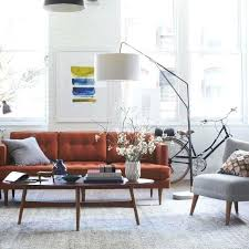 used west elm furniture. West Elm Via Couch Leather Used Offers Refunds On Sofa Furniture