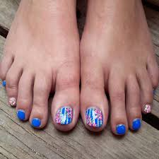 Best Of Anchor toe Nail Designs