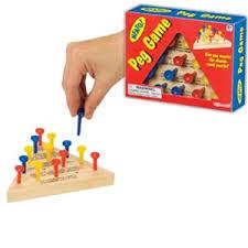 Wooden Peg Games Adventure Hobbies Toys Neato Wooden Peg Game Toysmith Toys 62