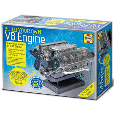 CHRISTMAS GIFTS FOR PETROLHEADS: BUILD YOUR OWN V8 ENGINE