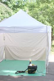 keep clean diy style how to make a spray booth