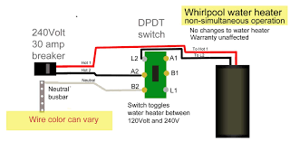 control water heater using 30 amp switch practical wiring diagram