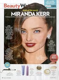 makeup how to miranda kerr s met ball look rmsbeauty