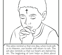 Free Catholic Coloring Pages For Lent Catholic Color Pages Catholic