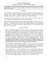 Form Boc 3 Designation Of Process Agents Llc In Texas How To Start An Llc In Texas