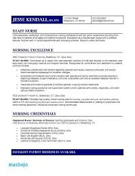 Nursing Resume Objective Best Registered Nurse Resume Objective Statement Examples Staff Nurse Cv
