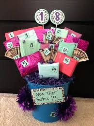 40th birthday gift baskets for her present female friend basket on the back of each numbered