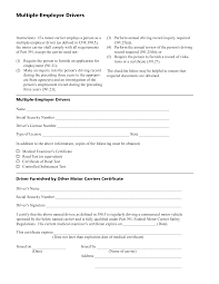 Pt 391 Multiple Employer Drivers Form Png