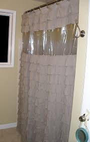 diy clear view shower curtain