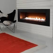 Spark Fire Ribbon Direct Vent Tri VU Fireplace  Kidd Fireplace Spark Fireplace