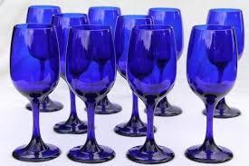 blue wine glasses blue dolphin wine glass cobalt blue wine glasses dollar tree