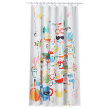 ikea badbÄck shower curtain densely woven polyester fabric with water repellent coating