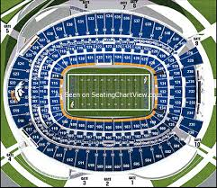 Sports Authority Field Mile High Stadium Seating Chart Broncos Stadium At Mile High Denver Co Seating Chart View