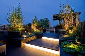planter lighting. Terrace Lighting With L Listed Stair And Step Lights Deck Contemporary Chicago Planter