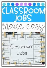 Classroom Jobs Chart Class Jobs Made Easy True Life Im A Teacher