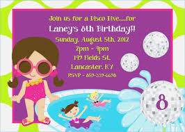 printable invitations for kids pool party invitation for kids aaiiworld org
