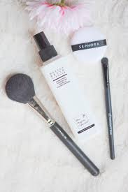 it cleans and sanitises natural and synthetic makeup brushes by removing residue oil and pigments and kills