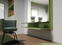 image titled decorate small. Image Titled Decorate A Small Bedroom Step 2 Y