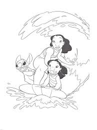 Free Printable Lilo And Stitch Coloring Pages For Kids Disney